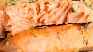 Frozen Salmon recipe
