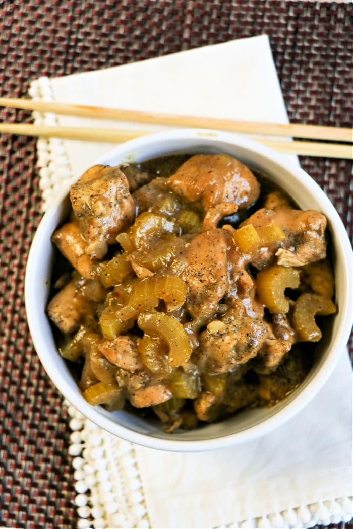 Instant Pot Black Pepper Chicken