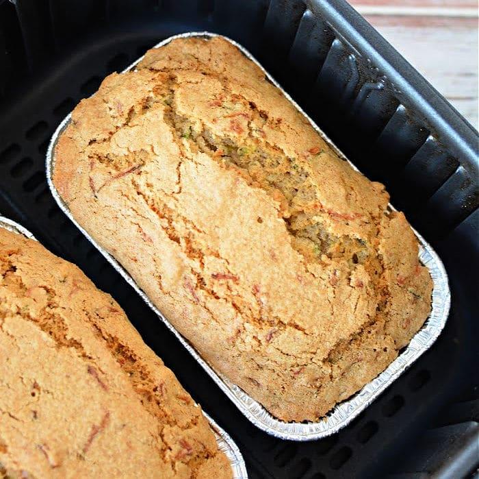air fryer zucchini bread recipe