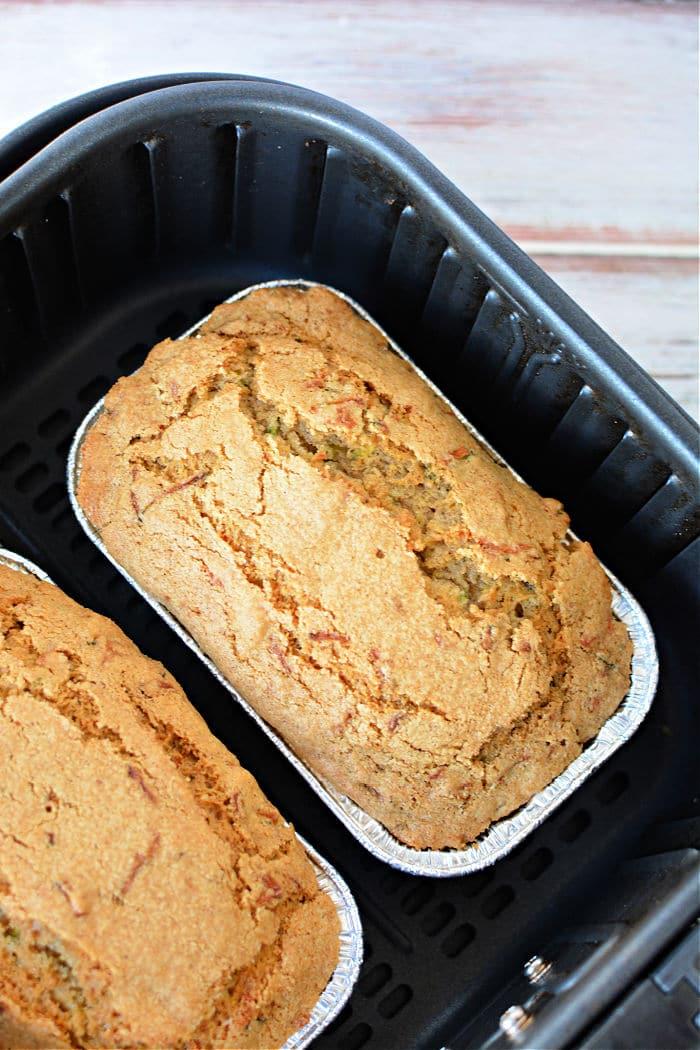 air fryer zucchini bread