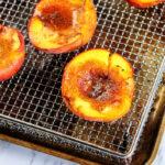 Air Fryer Peaches recipe