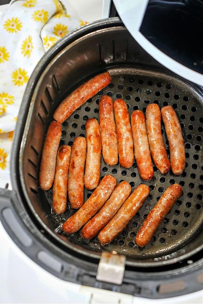 Sausage Links in Air Fryer