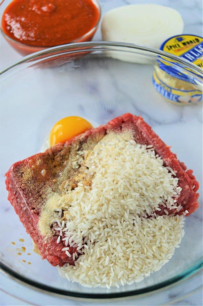 how to make porcupine meatballs