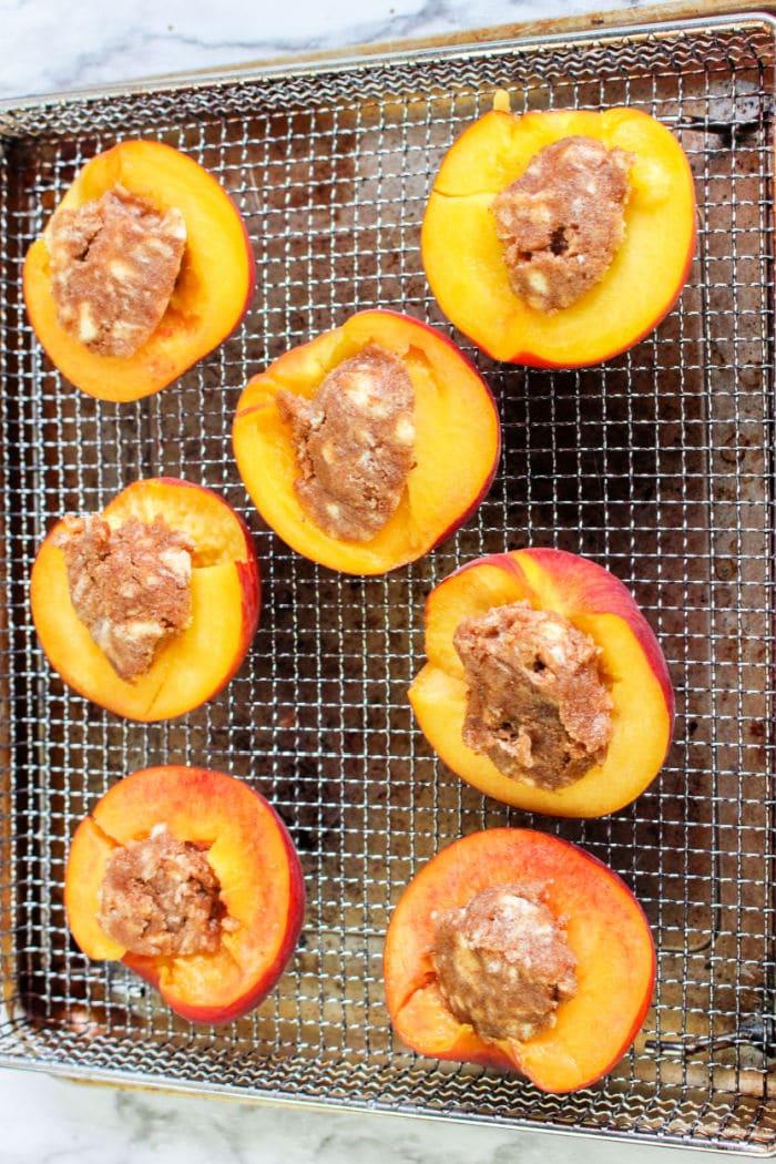 peaches air fryer