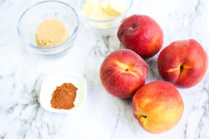 peaches in air fryer