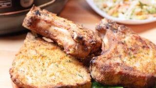 Breaded Pork Chop in Air Fryer