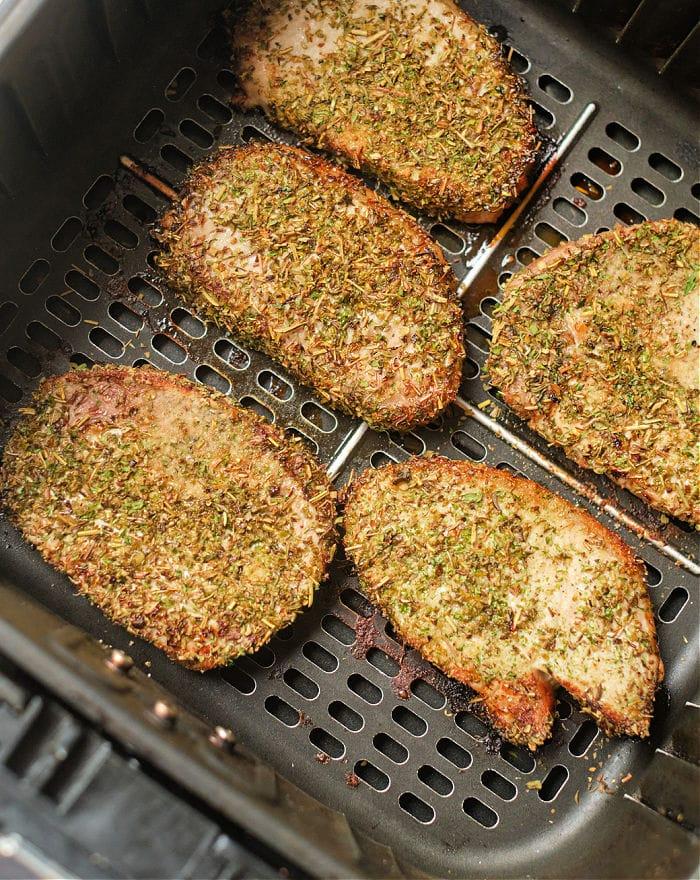 Pork Steaks in Air Fryer
