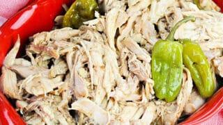 crockpot mississippi shredded chicken
