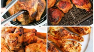 how to cook chicken in air fryer
