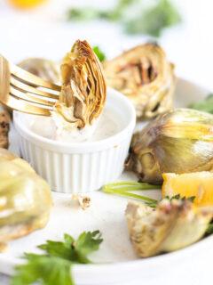 Air Fryer Artichoke recipe