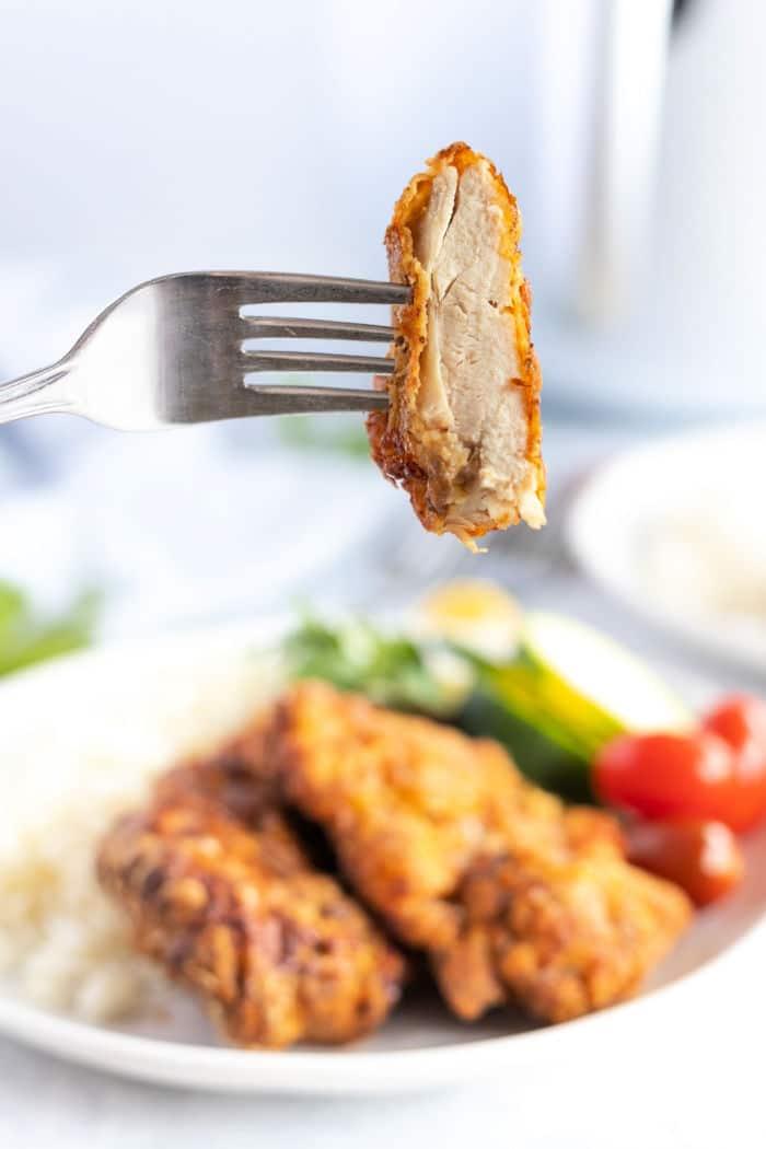 Air Fryer Fried Chicken Thighs