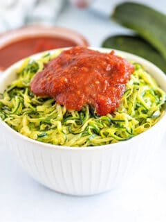 air fryer zoodle recipe
