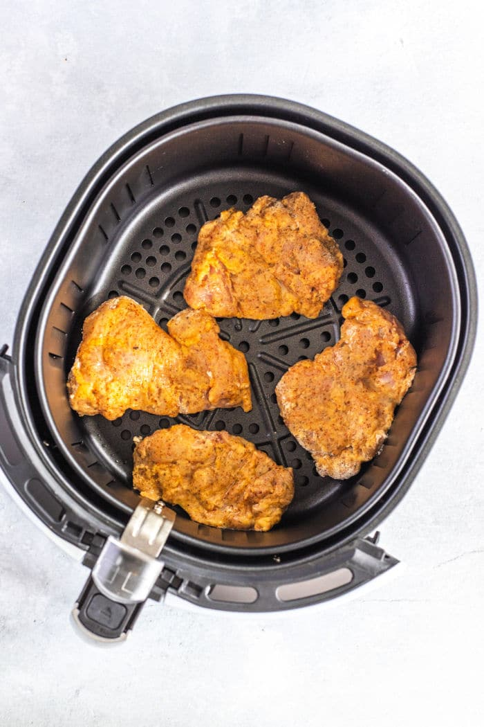 baked Fried Chicken Thighs