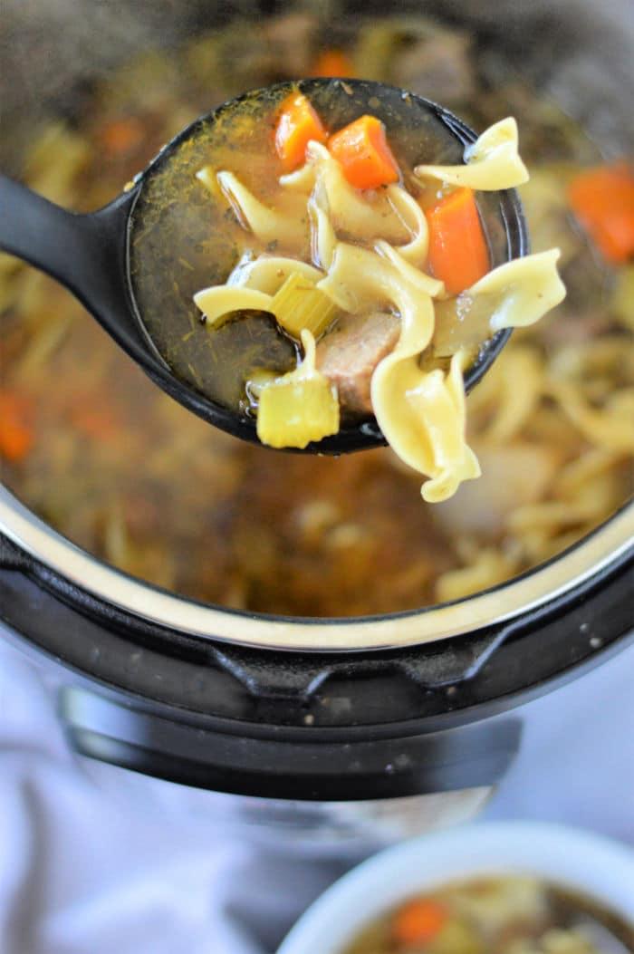 ninja foodi Beef Noodle Soup