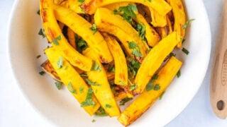 Air Fryer Pumpkin recipe