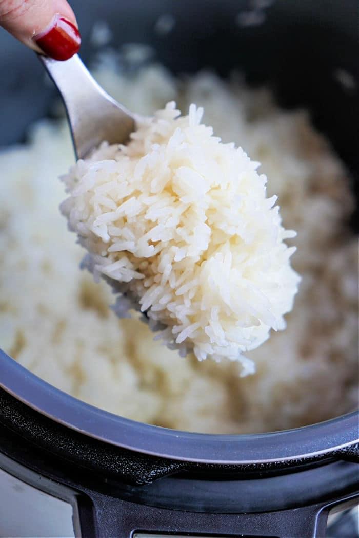 Cooking Jasmine Rice in Instant Pot