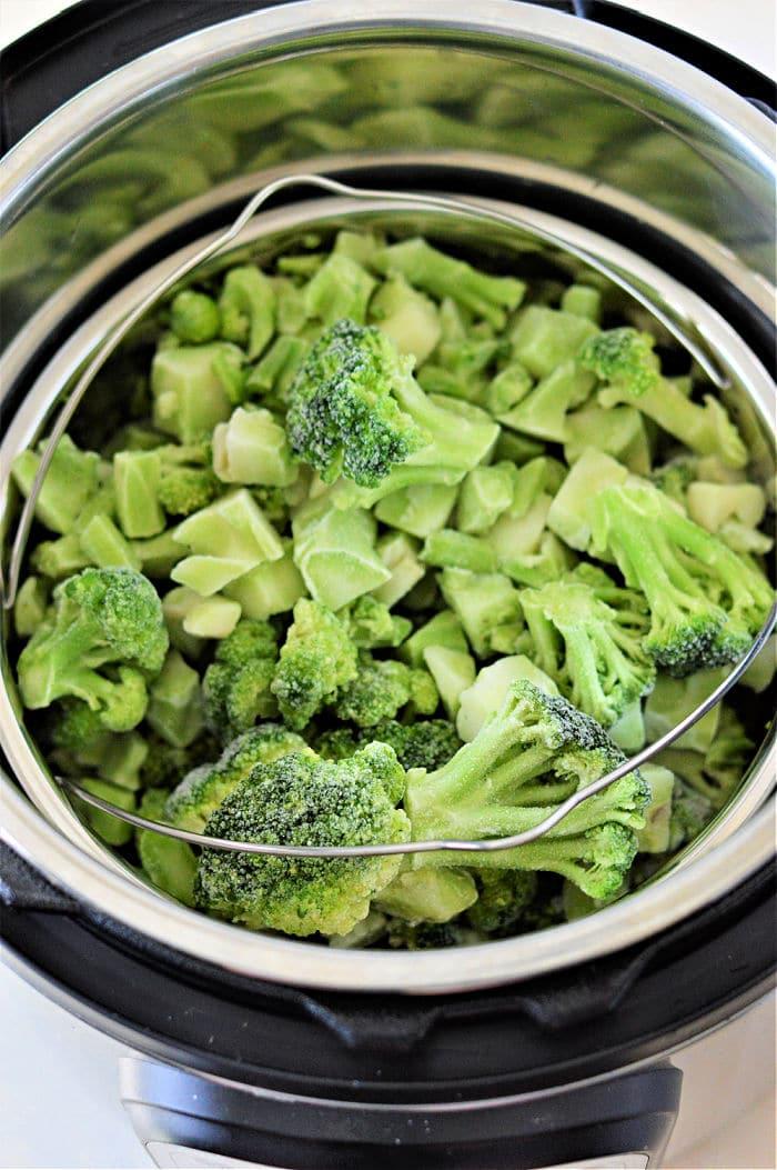 Frozen Broccoli in Instant Pot
