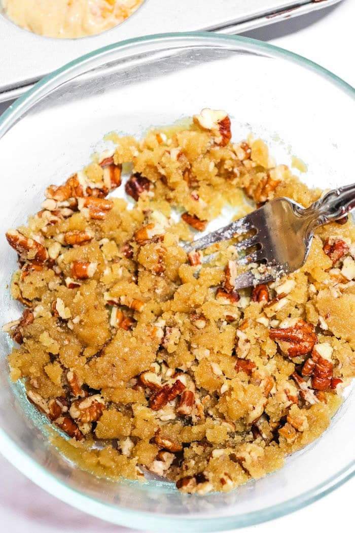 muffin crumble topping